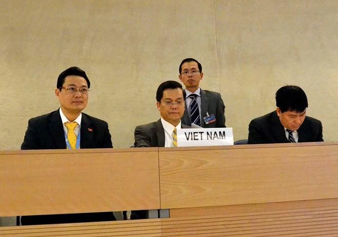เวียดนามยืนยันคำมั่นที่เข้มแข็งเกี่ยวกับการให้ความเคารพสิทธิมนุษยชน - ảnh 1