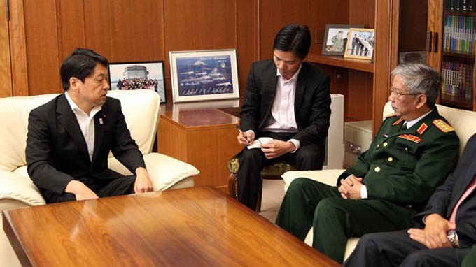ญี่ปุ่นให้ความสำคัญต่อบทบาทของกองทัพประชาชนเวียดนามในความร่วมมือระดับภูมิภาค - ảnh 1