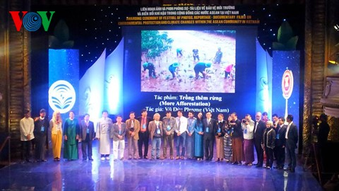เวียดนามได้รางวัลที่1ประเภทภาพถ่ายเกี่ยการอนุรักษ์สิ่งแวดล้อมในอาเซียน - ảnh 1