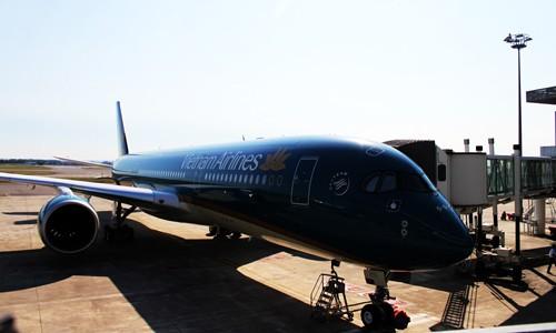 เวียดนามแอร์ไลน์-สายการบินที่ 2 ในโลกรับเครื่องบินแอร์บัส A350 - ảnh 1