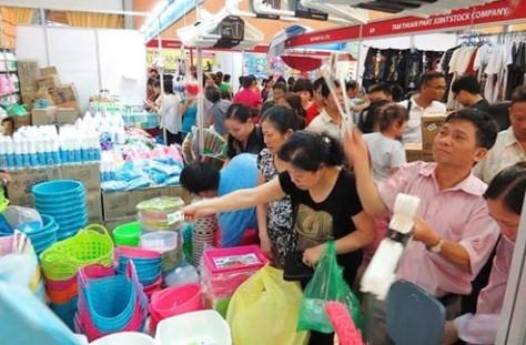 เปิดสัปดาห์ไทย-งานนิทรรศการแลกเปลี่ยนการค้าในนครโฮจิมินห์ - ảnh 1