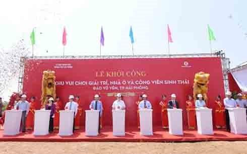 ก่อสร้างเขตนิเวศเกาะ หวูเอียน-เมืองท่าไฮฟอง มูลค่าเกือบ 1 พันล้านเหรียญสหรัฐ - ảnh 1