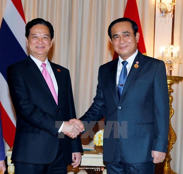 การเจรจาและการประชุมคณะรัฐมนตรีร่วมระหว่างเวียดนาม-ไทย - ảnh 1