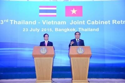การเจรจาและการประชุมคณะรัฐมนตรีร่วมระหว่างเวียดนาม-ไทย - ảnh 4