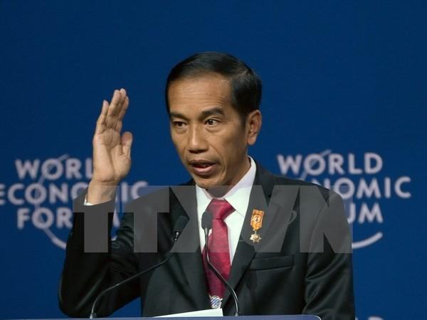 ประธานาธิบดีอินโดนีเซียเยือนสิงคโปร์ - ảnh 1