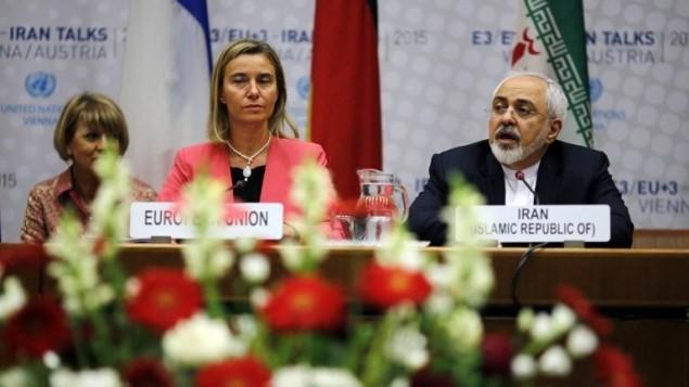 อิหร่านและอียูเห็นพ้องเริ่มการเจรจา - ảnh 1