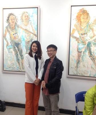 """จิตรกร Chua Cheng Koon """"ภาพวาดทุกภาพของผมคือผลงานชิ้นเอก"""" - ảnh 1"""