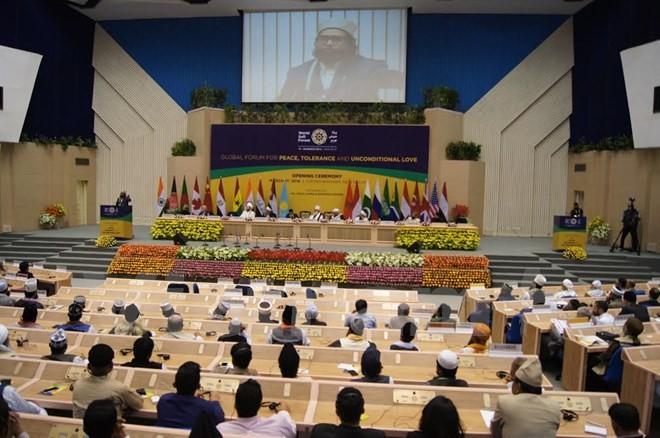 เปิดฟอรั่มศาสนาอิสลามนิกายคูฟีโลก ณ อินเดีย - ảnh 1