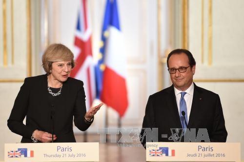 ฝรั่งเศสตั้งเงื่อนไขเพื่อให้อังกฤษเข้าถึงตลาดอียู - ảnh 1