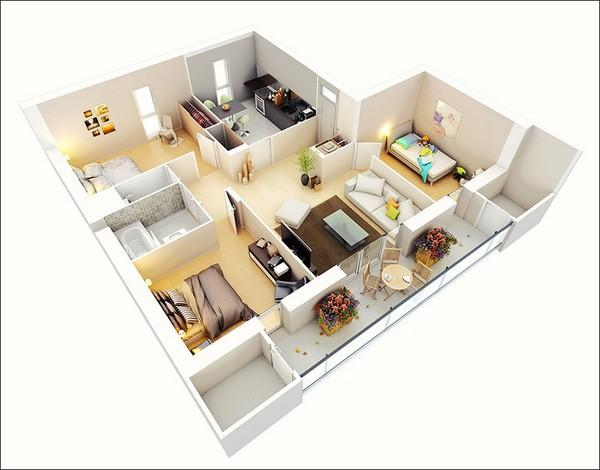 บ้านและบริเวณรอบๆบ้าน (บทที่ 3) - ảnh 1