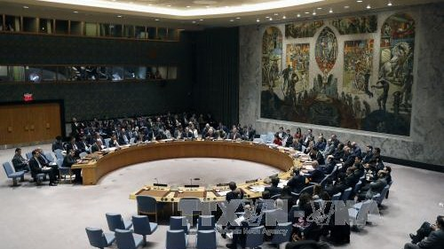 สหรัฐ อังกฤษและฝรั่งเศสเสนอมติให้คณะมนตรีความมั่นคงแห่งสหประชาชาติเปิดการสืบสวนการโจมตีด้วยอาวุธเคมี - ảnh 1