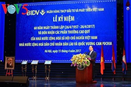 นายกรัฐมนตรี เหงียนซวนฟุก มีความประสงค์ว่า บีไอดีวีจะติด Top 25 ธนาคารที่ใหญ่ที่สุดในอาเซียน - ảnh 1