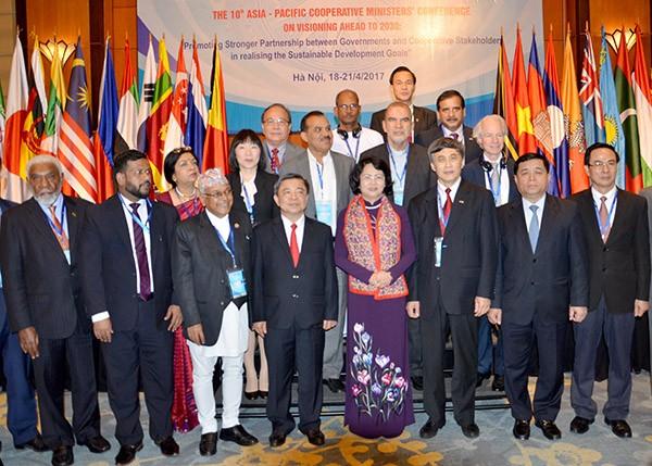 การประชุมรัฐมนตรีสหกรณ์ย่านเอเชียแปซิฟิกครั้งที่ 10 - ảnh 1