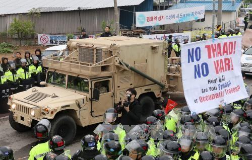 ระบบ THAAD ในสาธารณรัฐเกาหลีจะพร้อมใช้งานในอีกไม่กี่วันข้างหน้า - ảnh 1