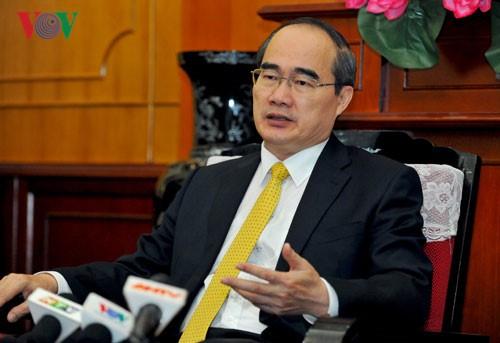 ประธานแนวร่วมปิตุภูมิเวียดนามส่งจดหมายอวยพรวันวิสาขบูชาปี 2017 - ảnh 1