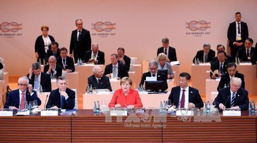 ประเทศต่างๆที่เข้าร่วมการประชุมจี 20 ให้คำมั่นที่จะขัดขวางการสนับสนุนการก่อการร้าย - ảnh 1