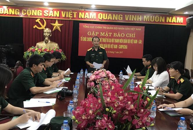 จะมีการจัดกิจกรรมต่างๆของเยาวชนกองทัพเวียดนาม ลาวและกัมพูชาอย่างคึกคัก - ảnh 1
