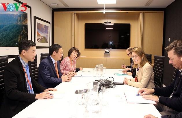 เวียดนามเรียกร้องให้สถานประกอบการออสเตรเลียผลักดันการลงทุนในเวียดนาม - ảnh 1