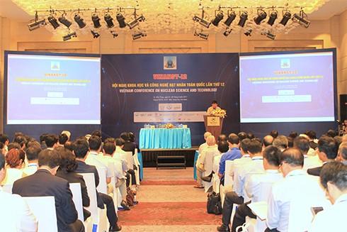 การประชุมวิทยาศาสตร์และเทคโนโลยีด้านนิวเคลียร์ทั่วประเทศครั้งที่ 12 - ảnh 1