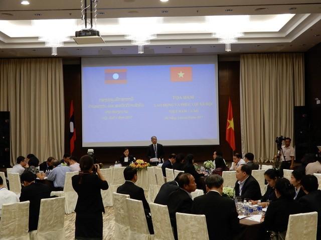 55 ปีความสัมพันธ์เวียดนาม-ลาว: ผลักดันความร่วมมือด้านแรงงานและสังคม - ảnh 1