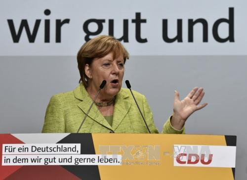 นาง อังเกลา แมร์เคิล กำลังเข้าใกล้ชัยชนะเพื่อเป็นนายกรัฐมนตรีเยอรมนีในสมัยต่อไป - ảnh 1