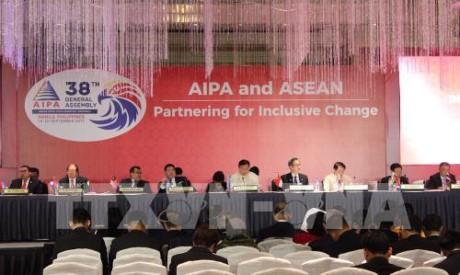 ปิดการประชุมไอป้า 38: พยายามมุ่งสู่ประชาคมอาเซียนอย่างแท้จริง - ảnh 1