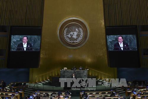 สหประชาชาติอนุมัติมติเรียกร้องให้สหรัฐยกเลิกคำสั่งคว่ำบาตรคิวบา - ảnh 1