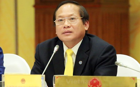 Lawmakers question cabinet members on labor, information issues - ảnh 2