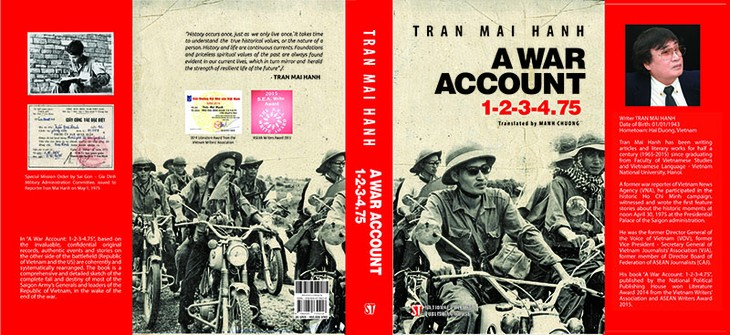 "Where to buy the English version of ""War Account 1-2-3-4-.75"" novel? - ảnh 1"
