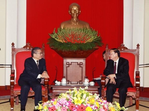 Communist Party of Japan delegation visits Vietnam - ảnh 1