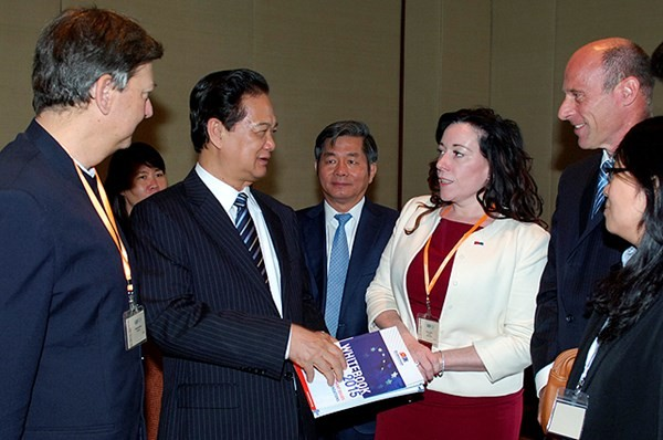 Vietnam Business Forum 2014 - ảnh 2