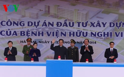 Construction of 2nd facility of Bach Mai and Vietnam-Germany hospitals starts - ảnh 1