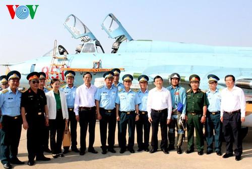 President Truong Tan Sang visits Ninh Thuan - ảnh 2
