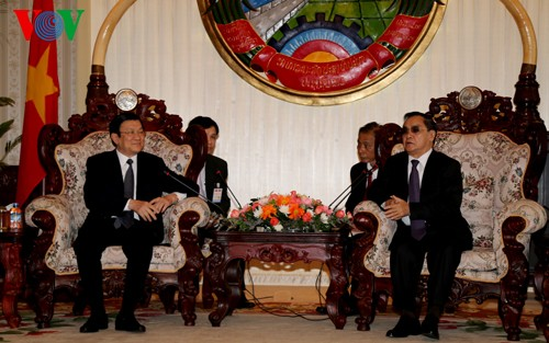 Vietnam supports Laos in hosting 2016 ASEAN Presidency - ảnh 1