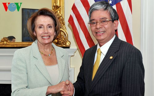 Minority leader of the US House of Representatives to visit Vietnam - ảnh 1