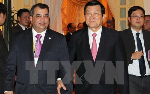 State President receives IPU executive committee - ảnh 1