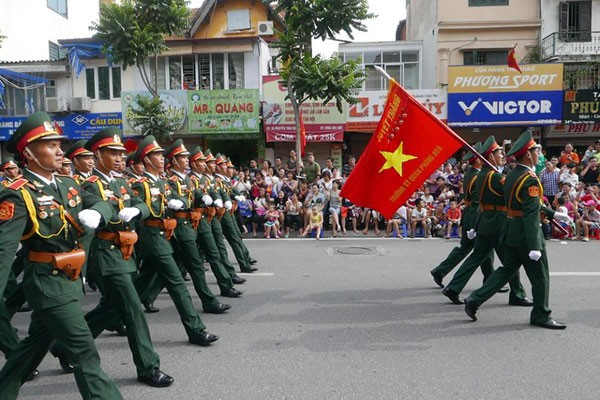 Meeting marks Vietnam's 70th National Day - ảnh 4