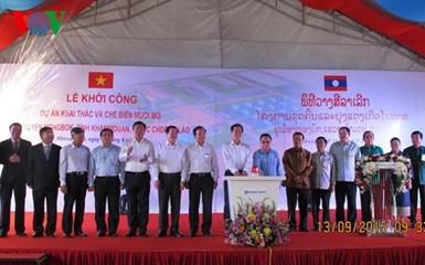 Prime Minister visits Laos - ảnh 1
