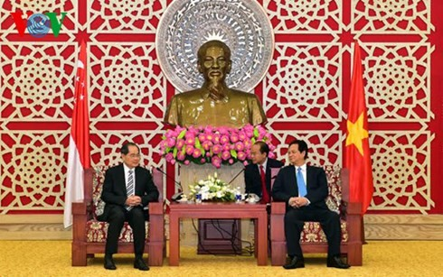 Prime Minister attends ground-breaking ceremony of VSIP project in Nghe An - ảnh 3