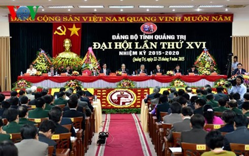 Quang Tri province's Party Congress - ảnh 1