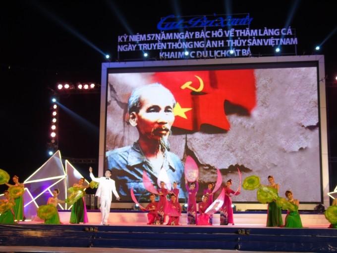 Cat Hai fishing village marks 57th anniversary of President Ho Chi Minh's visit - ảnh 1