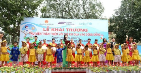 Hanoi launches child-friendly library model - ảnh 1