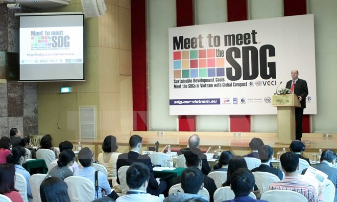 Vietnamese businesses assisted to achieve sustainable development goals - ảnh 1