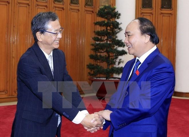 Japanese ambassador –first guest of new gov't welcomed - ảnh 1