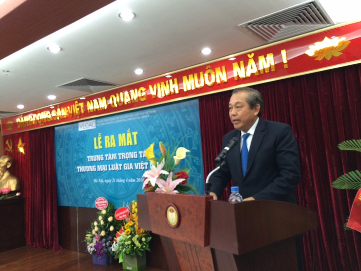 Vietnam Lawyers' Commercial Arbitration Center inaugurated  - ảnh 1