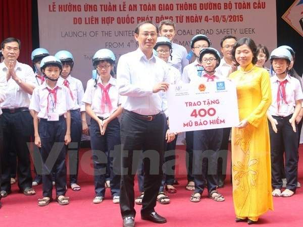 Campaign features manga character to raise children's road sense - ảnh 1