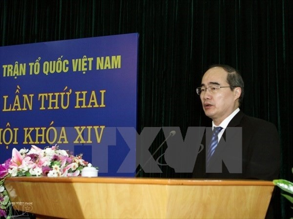 Vietnam Fatherland Front wants effective candidate-voter meetings - ảnh 1