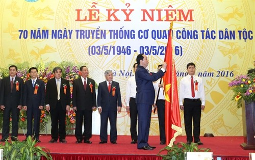 Government Committee for Ethnic Minority Affairs marks 70th anniversary - ảnh 1