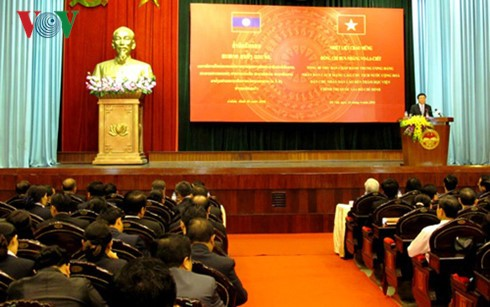 Lao Party General Secretary and President visits HCM National Academy of Politics - ảnh 1