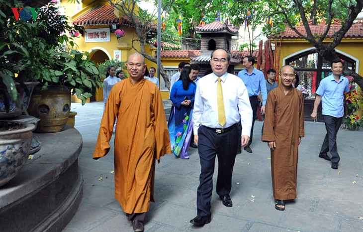 Strong development of Buddhism, evidence of religious freedom in Vietnam - ảnh 1